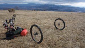 bikepacking góry bystrzyckie