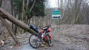 bikepacking, góry bystrzyckie, rower