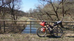 bikepacking, rower, pogórze przemyskie